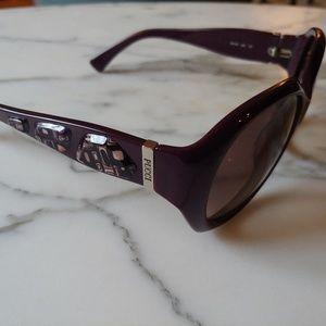 Emilio Pucci deep purple sunglasses